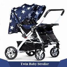 [ $36 OFF ] New Baby Twins Double Luxury Stroller Newborn Foldable Brand Kinderwagen Pram Shockpoof Travel Pushchairs Infant Carriage