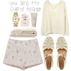 Mwah by carocuixiao on Polyvore Every girl needs a pair of pretty floral shorts this season.