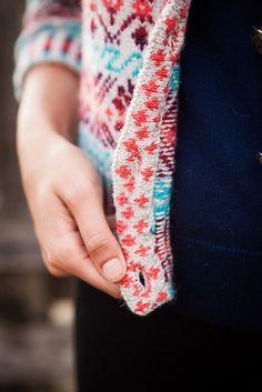 Ravelry: Shetland Rose Cardigan pattern by Geoffrey Hunnicutt