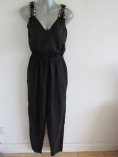 9da38702c11 French Connection black beaded jumpsuit BNWOT size 10  fashion  clothing   shoes  accessories