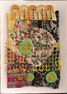 Textile Art , Mixed Media Textile Art, with thanks to Textile artist Rachel Blythe Udell, Artist Study Resources for Art Students , CAPI ::: Create Art Portfolio Ideas at milliande.com , Art School Portfolio Works, Textiles, Fibre, Art, Sewing, Stitching