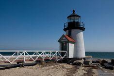 Brant Point Light Station in Nantucket County, Massachusetts.