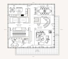 Diseño de apartamento de lujo con decoración y planos | Construye Hogar