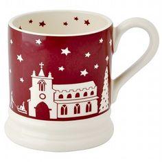 Emma Bridgewater Christmas Town Litho 0.5 Pint Mug
