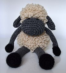 @Krista Peterson Can you make this for me??Sheldon the Sheep by Curly Girl Coop - free crochet pattern