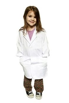 NEW DANCE Doctor Costume for Kids Lab Coat Doctor Coat for Kids School Career Day Scientists Doctor Dress Up for Kids