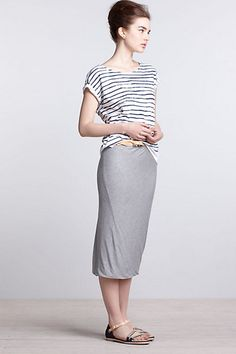 Anthropologie MadeInKind ObyOrganic - I don't like the gray, but the concept of the outfit is cute