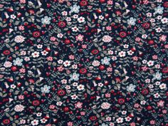 Sommersweat Hilco Flora, Red, Baby, Fabrics, Plants, Newborns, Infant, Baby Baby, Doll