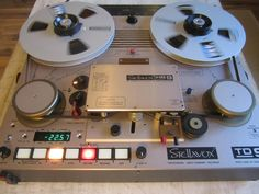 """Extremely Rare Stellavox TD9 Master Recorder 1 2"""" 2T Idem Nagra T Studer A820 