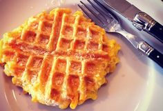 mac & cheese waffles - http://www.oprah.com/food/Muffin-Tin-Recipes-and-Other-Unusual-Uses-for-Kitchen-Tools/4