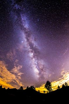 The Milky Way near Stonewall Mine in Cuyamaca Rancho State Park I'd like to see the night sky like this at least once in my life.
