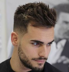 Top 100 Men's Hairstyles & Haircuts for Men - Hairstyle Man New Men Hairstyles, Short Hairstyles 2015, Cool Mens Haircuts, Undercut Hairstyles, Men's Haircuts, Elegant Hairstyles, Amazing Hairstyles, Pompadour Hairstyle, Trending Hairstyles