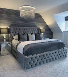 Bedroom Decor For Teen Girls, Room Ideas Bedroom, Home Bedroom, Attic Bedroom Ideas For Teens, Luxury Bedroom Design, Master Bedroom Design, Dream Rooms, Dream Bedroom, Home Design