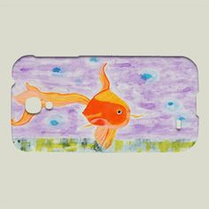 Fun Indie Art from BoomBoomPrints.com! https://www.boomboomprints.com/Product/pabloontaneda/Goldfish/Galaxy_Cases/Samsung_Galaxy_S4_Slim_Case/