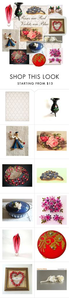 """""""Roses are Red"""" by ravishedheart ❤ liked on Polyvore featuring interior, interiors, interior design, home, home decor, interior decorating, Safavieh and 1928"""