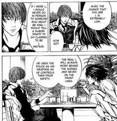 Death Note Manga Page