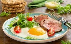 Food desktop wallpapers - page 090 Healthy Mind, Healthy Eating, Scrambled Eggs, Roast Beef, Ramen, Salad, Meat, Breakfast, Ethnic Recipes