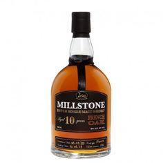 El whisky de malta Millstone French Oak ha sido envejecido en barriles de roble europeo (Quercus robur) de los bosques de alrededor de Nevers. A diferencia de la madera de roble americano el europeo utilizado no tiene que ser tostado ya que la madera es porosa y por lo tanto extrae y proporciona al whisky su aroma y sabor más fácilmente.