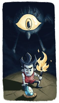 Don't Starve - Don't Take The Tallbird's Egg! by doczal on DeviantArt
