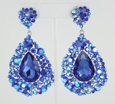 Pageant Earrings and other accessories at www.lmbling.com