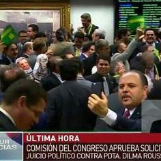 #LaRealnoticia Video: Asi Fue la Votación para Juicio Político contra Presidenta de Brasil http://ht.ly/10ypJn