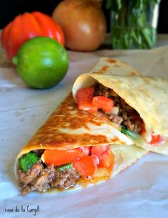 Copycat Meximelts Recipe with 340 calories Includes ground beef taco seasoning beef stock tomatoes onions jalapeno chilies chopped cilantro lime flour tortillas cheddar c. Copycat Recipes, Beef Recipes, Mexican Food Recipes, Cooking Recipes, Ethnic Recipes, Mexican Entrees, Mexican Cooking, Cooking Ideas, Yummy Recipes