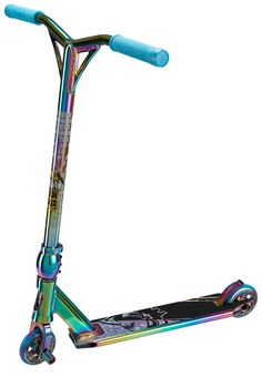 Petrol Rainbow Neo chrome Scooter X-Gen RRP £229