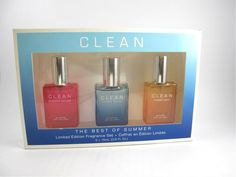 #Clean 'The Best of Summer' Fragrance Set 3pcs (imperfect packaging)