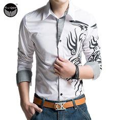 Сорочка Homme 2016 бренд мужской рубашки Camisas хомбре Vestir с длинным  рукавом мужские рубашки Camisa социальной 385d2de40b0