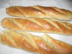 Como hacer pan francés / baguette Pan Baguette Receta, Colombian Food, Puerto Rican Recipes, Bread And Pastries, Latin Food, French Food, Empanadas, Bread Baking, Hot Dog Buns