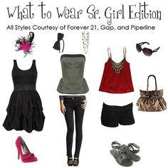 what to wear senior :)