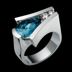 Venture London Blue Topaz- By John Atencio