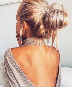 open back top. #hairdo
