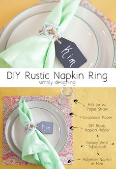 Rustic Napkin Ring by Simply Designing