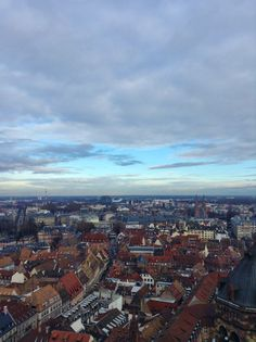 Looking out over the city. Photo from SU Strasbourg student Stephanie Breed. Strasbourg, Study Abroad, City Photo, Student, France, Travel, Viajes, Destinations, Traveling