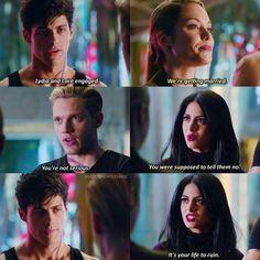 Season 1 Episode 9: Izzy, Lydia, Jace, Alec