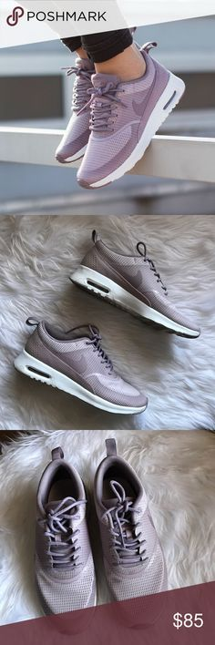 Women's Nike Air Max Thea Plum Fog Worn twice, like new condition. Plum Fog color.   Sold Out! Nike Shoes Athletic Shoes