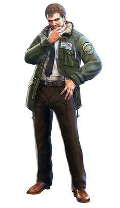Resident Evil: Revelations - Clive O'Brian