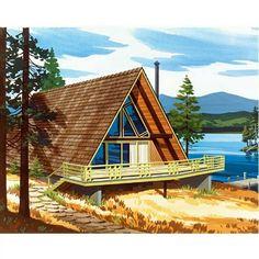 A-Frame Home Plan