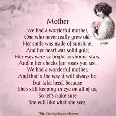 Momma,All your kids miss you,,,,,