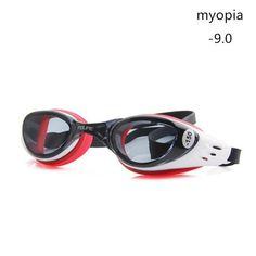 9f6fc54cb70 FEIUPE Myopia Swim Goggles Swimming Glasses Anti Fog UV Protection Optical  Waterproof Eyewear for Men Women Adults Sport