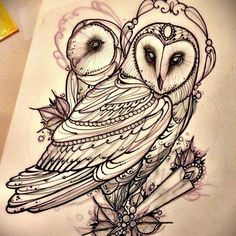 Image result for barn owl tattoo