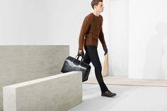 FALL 2013-14 | ZARA MAN lookbook October | All the trends for fall. The fisherman's sweater is a must.