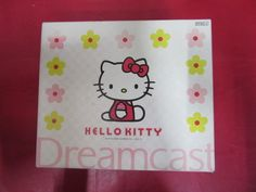 Hello Kitty Dreamcast Set Skeleton Pink  #retrogaming #HotDC  great JPN Limited Edition with console controller keyboard and VMU. Auction at a good price atm.