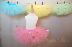 The Polka Dot Tutu....You choose size and color....AngelBabes Tutus .... Birthday Tutu by angelbabes on Etsy https://www.etsy.com/listing/195557905/the-polka-dot-tutuyou-choose-size-and