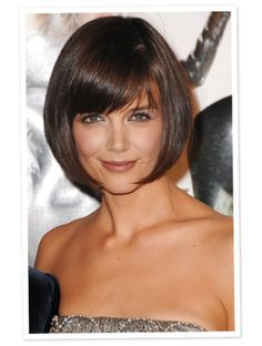 Why Katie Holmes Really Went for Her Signature Bob - http://latestfashionpicks.todayswebgifts.com/why-katie-holmes-really-went-for-her-signature-bob/
