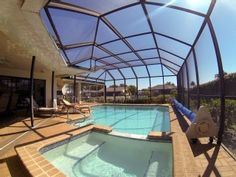 Waterfront+Luxury+Family+Home,+Heated+Pool+&+Jacuzzi,+Boat,+FishingVacation Rental in Cape Coral from @HomeAway! #vacation #rental #travel #homeaway