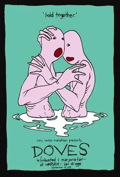 Discover more about Doves Brooklyn 2005 Concert Posters, Music Bands, Screen Printing, Brooklyn, Memes, Artist, Design, Screen Printing Press, Silk Screen Printing