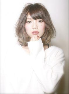 シアーアッシュボブ  【CARNIVAL】 http://beautynavi.woman.excite.co.jp/salon/22874?pint ≪ #mediumhair #mediumstyle #mediumhairstyle #hairstyle・ミディアム・ヘアスタイル・髪形・髪型≫