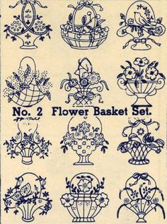 Embroidery-Transfers-Flower-Basket-Quilt-Depression1930